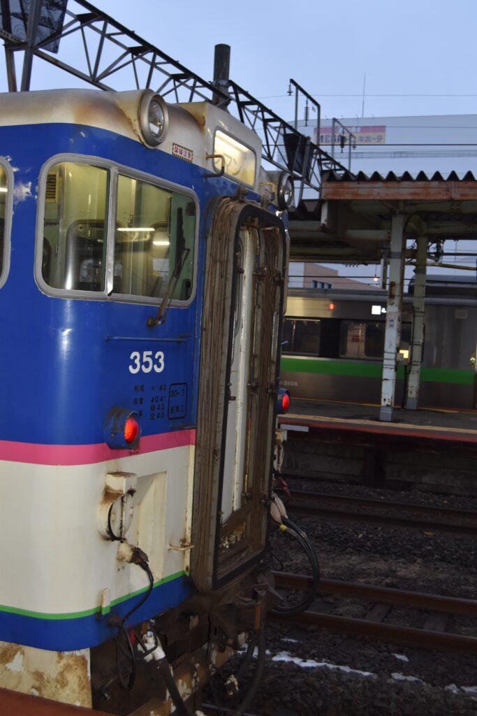 キハ40-353後方_苫小牧駅